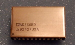 Analog Devices Ad386bd True 16 bit Track and hold amplifer