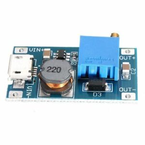 2v 26v Dc Mt3608 Microusb Step Up Boost Voltage Regulator Power Supply Module Us