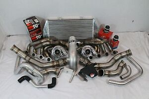 Upp C6 Zo6 Corvette Ls2 Ls3 6182r Twin Turbo Kit