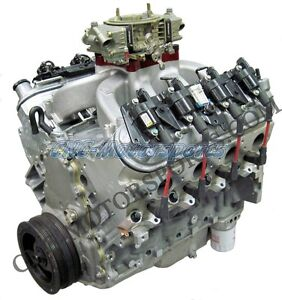 Chevy Ls3 415 Carbureted Crate Engine 550 Horsepower