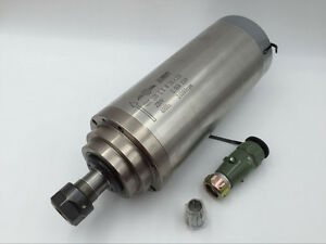 Er20 4 Bearings Cnc Spindle Motor 3kw D 100mm 24000rpm Water Cooling Engraving