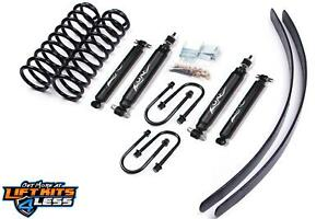 1984 2001 Jeep Cherokee Xj Zone 3 Full Suspension Lift Kit Dana 35 Rear End J7