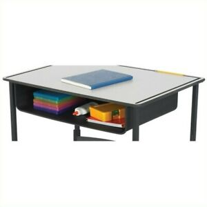 Safco Book Box For Alphabetter Desk In Black