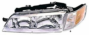 Fits 94 97 Accord Left Driver Headlight Assembly