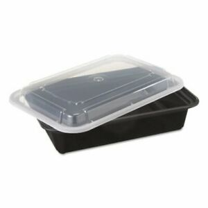 38 oz Versatainer Rectangular Food Containers 150 Containers pac Nc888b