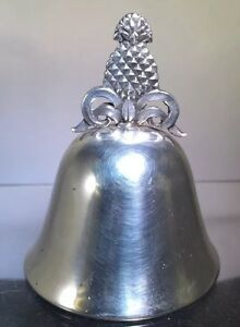 Tiffany Sterling Silver Dinner Bell Pineapple Form Finial