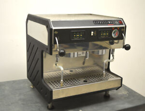 Grindmaster 2450q Espressimo Expresso Coffee Machine 2group Automatic Cappuccino
