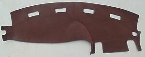 1998 2001 Dodge Ram 1500 2500 Truck Dash Cover Mat Brown