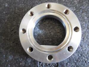 Huntington High Vacuum Research Chamber 2 Stainless Steel Ring Cap Ships Today