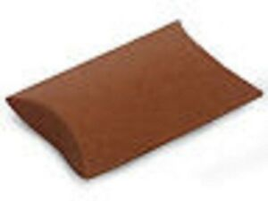 Small Kraft brown Pillow Boxes Wedding Favors 250 Ct 3 5x3x1