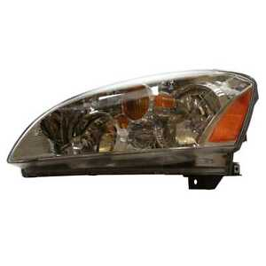 Driver Left Headlight Headlamp Assembly For 2002 2004 Nissan Altima W O Hid Fwd