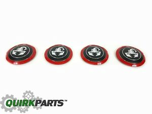 2012 2017 Fiat 5oo Abarth Scorpion Center Cap Set Of 4 Oem New Mopar Genuine