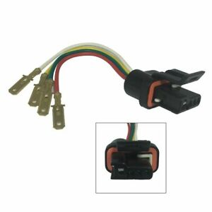 For Gm Delco Chevy Alternator Regulator Connector Plug Harness Pigtail W Male Pg