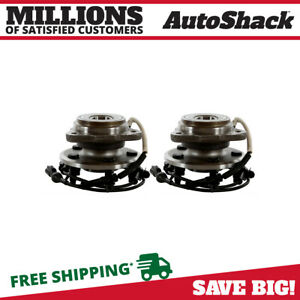Front Pair 2 Wheel Hub Bearing Assembly Fits 1995 01 Ford Explorer Hb615054pr
