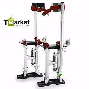 Aluminum Drywall Stilts Pro 24 40 Sturdy Stand Professionals Lightweight Usa