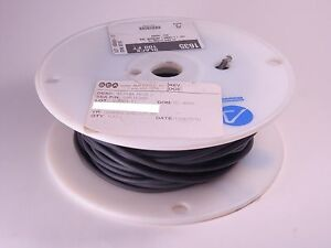 1635 2 Alpha Epr Rubber Hookup Wire 20 Awg 41 36 135 Black Partial Nos