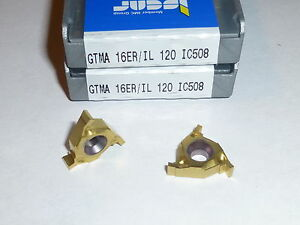 Gima 16er il 120 Ic508 Iscar 10 Inserts Factory Pack