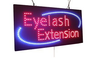 Eyelash Extension High Quality Led Sign Store Sign Business Sign Window Sign