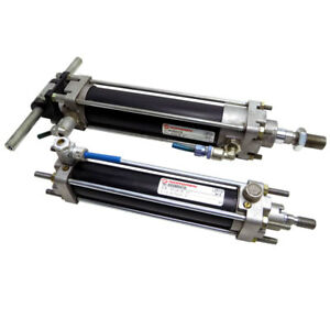 lot Of 2 Norgren 830228005 830229005 Pneumatic Air Cylinders 125mm Stroke