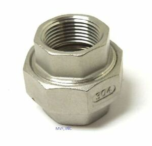 Union 2 150 Npt 304 Stainless Steel Pipe Fitting 754wh