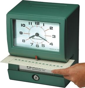 Acroprint Electric Print Heavy duty Standard Time Recorder 150rr4 01 2070 41b