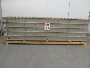 New Belt Roller Conveyor System Infeed outfeed 220v 440v 3ph 60hz