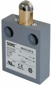 Suns Sn3212 sp b3 Roller Plunger Limit Switch For 914ce2 9 9007ms02s0300