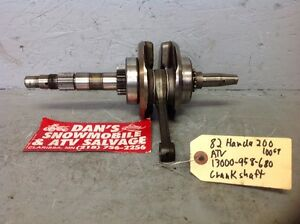 Crankshaft # 13000-958-680 Honda 1982 ATV 200