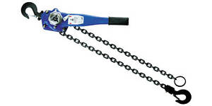 1 1 2t 15ft Lever Block Hoist Chain Ratchet Come Along