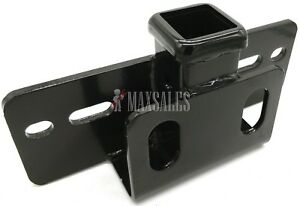 New 5000lbs Step Bumper Mount Mounting 2 Hitch Receiver Rv Trailer Truck