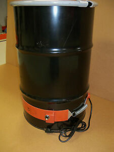 Drum Heater Metal 30 Gallon 750 Watt Wvo Biodiesel