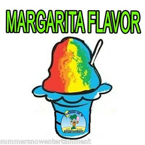 Margarita Mix Snow Cone shaved Ice Flavor Quart 1 Concession Supplies