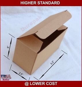 200 6x2 5x3 2 Cardboard Boxes Mailer Sunglasses Etc Gift Ware Packing Mailing