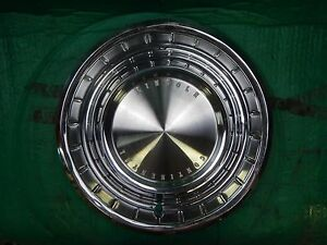 1962 62 1963 63 Lincoln Continental Hubcap Rim Wheel Cover Hub Cap 14 Oem Ah 4