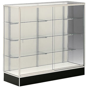 Wall Trophy Display Showcase 48 wx60 h Retail Store Fixture Ships Assembled New