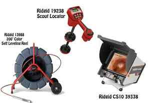 Ridgid 200 Color Sl Reel 13988 Navitrack Scout Locator 19238 Cs12x 57288