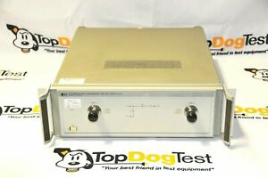 Hp Agilent Keysight 8512a Reflection transmission Test Set 18 Ghz W warranty