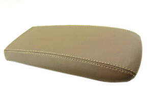 Center Console Armrest Leather Synthetic Cover For Ford Explorer 95 01 Beige