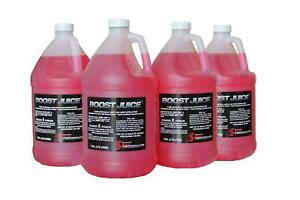 Snow Performance Boost Juice Water Methanol Mix 1 Gallon Set Of 4