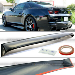 Fit 10 16 Chevy Camaro Rear Windshield Window Roof Vent Visor Spoiler Wing