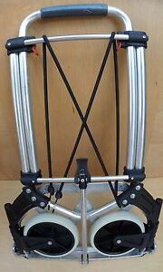 Hand Truck Dolly Compact Industrial 200 Lbs Capacity Portable Folding Wheels