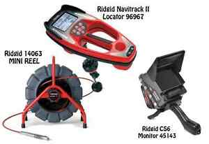 Ridgid 200 Mini Reel 14063 Navitrack Ii Locator 96967 Cs6 45143