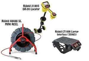 Ridgid 200 Mini Reel 48488 Seektech Sr 20 Locator 21893 Lt1000 35983