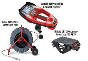 Ridgid 325 Color Reel 14058 Navitrack Ii Locator 96967 Lt1000 35983