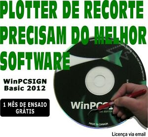 Cutting Software Winpcsign Basic 2012 For All Vinyl Cutter Plotter Unlimited