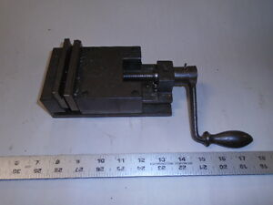 Machinist Tools Lathe Mill Machinist 3 1 2 Shaper Milling Vise And Handle