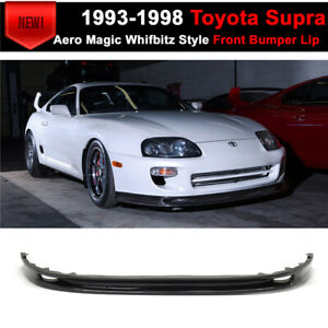 For 93 98 Toyota Supra Front Bumper Lip Aero Magic Whifbitz Style Cf Cf