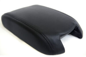 Center Console Armrest Leather Synthetic Cover For Ford Taurus 10 19 Black