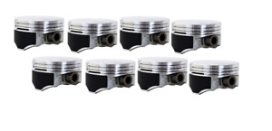 Gm Chevy 346 5 7l 1997 2004 V8 Ls Ls1 Ls6 Coated Hypereutectic Flat Top Pistons