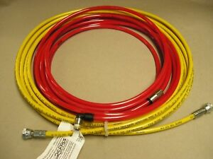 Exitflex Air assisted Airless High P 25 X 3 16 id Paint Hose 5075 Psi Max